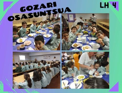 GOZARI OSASUNGARRIA