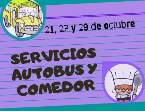 SERVICIOS COMEDOR Y BUS