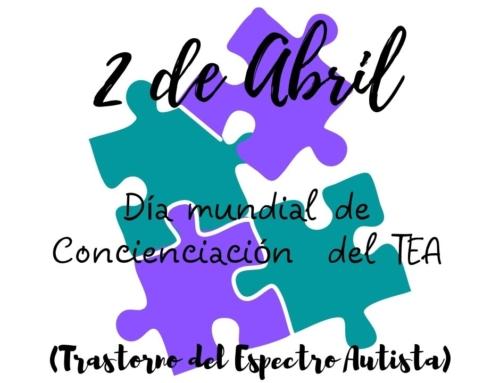 2 de Abril: Día mundial de concienciación TEA